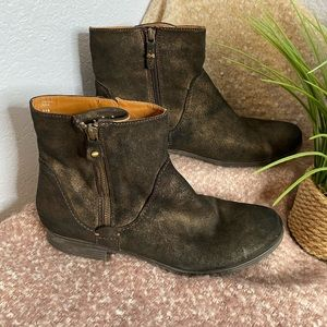 Earthies Sintra Rock booties ankle boots size 11